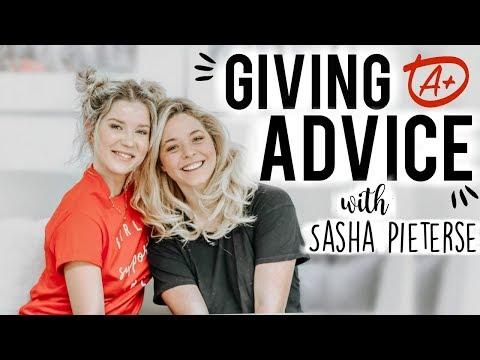 GIVING ADVICE WITH SASHA PIETERSE | DBM #26