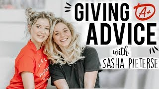 GIVING ADVICE WITH SASHA PIETERSE | DBM #26