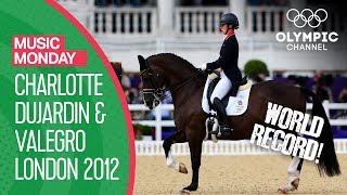 "Charlotte Dujardin & Valegro in the ""Land of Hope & Glory"" at London 2012 