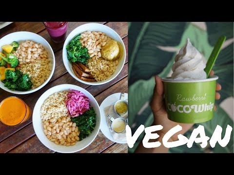 BEST VEGAN RESTAURANT IN LOS ANGELES // [Real Food Daily & Rawberri]