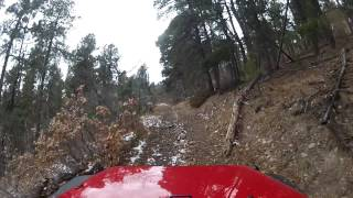 Thanksgiving Weekend 2012 Black Hills Wheelin, Steep Climb