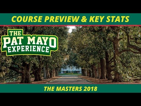 2018 Fantasy Golf Masters Picks: Augusta National Course Preview, Key Stats, Trends and MORE