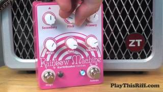 RAINBOW MACHINE guitar pedal demo for PlayThisRiff.com