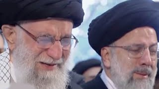 Iran's Supreme Leader weeps at Soleimani's funeral
