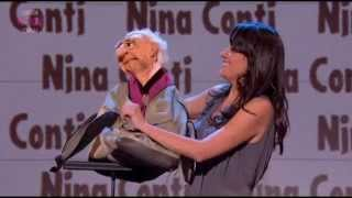 Nina Conti on Russell Howard's Good News
