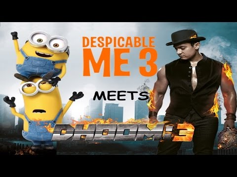 Despicable Me 3 Trailer Mashup | When Despicable me 3 meets Dhoom 3 😂