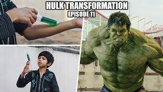 The Hulk Transformation Episode 11 | A Short film VFX Test