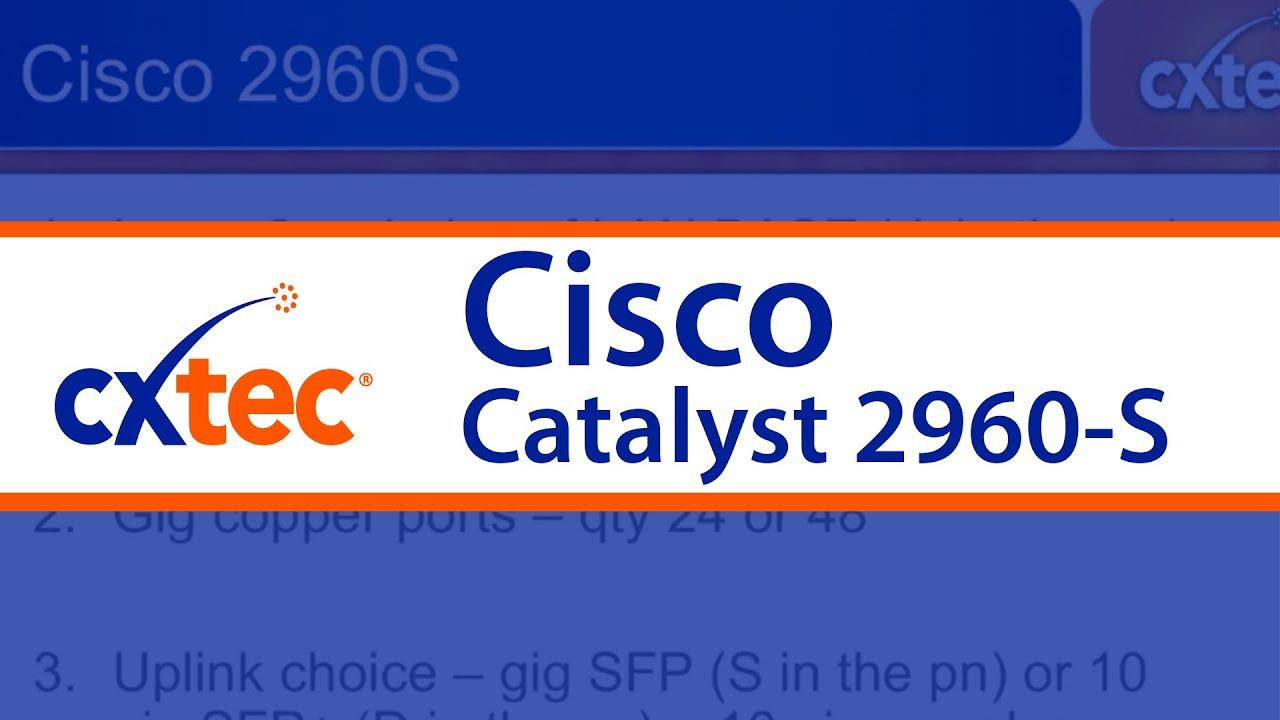 Cisco Catalyst 2960-S