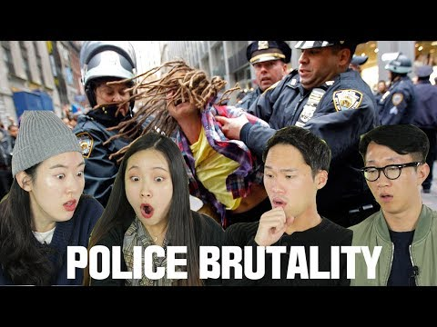 Koreans react to American police brutality [Korean Bros]