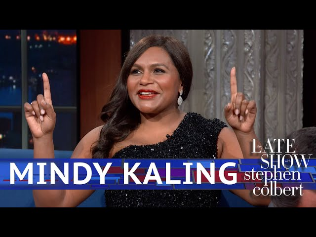 Mindy Kaling Gets Cut Off By Stephen\'s Apple Watch