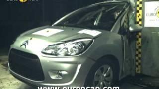 Краш-тест и видео краш-тест Citroen C3 (Ситроен С3) - Автомобильный информационный портал - AutoTurn.ru