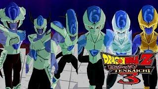 Frost Forms - Dragon Ball Z Budokai Tenkaichi 3 (MOD)