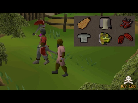 Pretending to be a skiller in a PvP world (they didn't see this coming)
