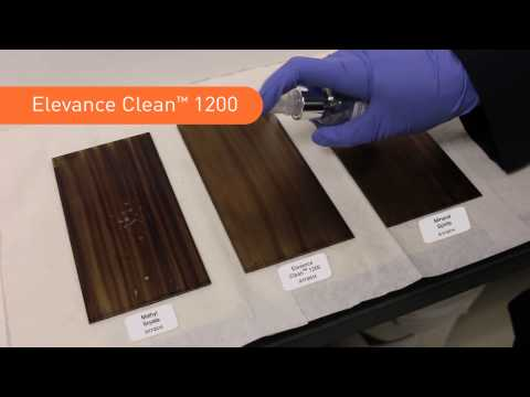 Elevance Clean™ 1200 VOC Exempt* Degreasing Solvent—Spray and Rinse Demonstration