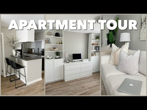 FURNISHED APARTMENT TOUR 2020 | Marie Jay