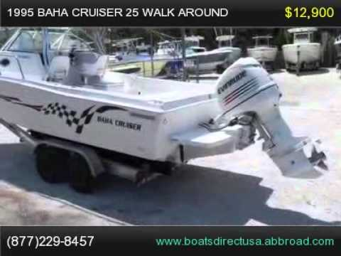 1995 Baha Cruiser 25 Walk Around, Florida Boat for Sale