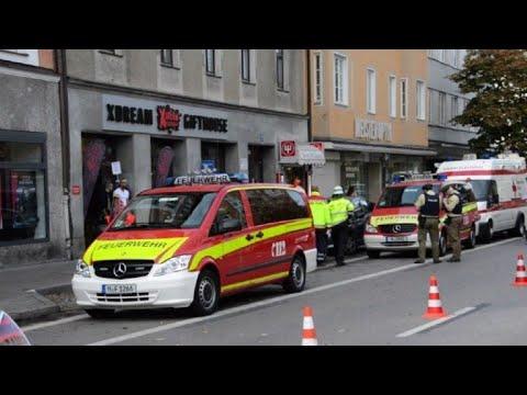 Ocho heridos en ataque con cuchillo en Múnich, detienen agresor