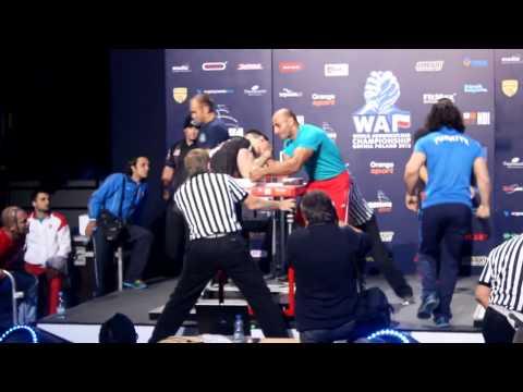 WAF 2013 Geoff Hale fight championatchip of world