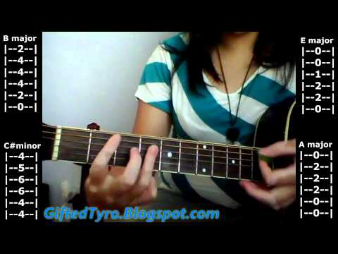 """Guitar Tutorial: """"Drive By"""" By Train (Tabs Included) NO CAPO!"""
