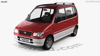 Daihatsu Move 1998 3D model by Hum3D.com