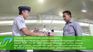 Video Proses Security Check Bandara Internasional Juanda