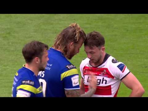 Rugby player gets mic'd up during a game