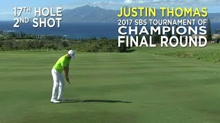 By the Numbers: Justin Thomas' clutch approach at the SBS Tournament of Champions