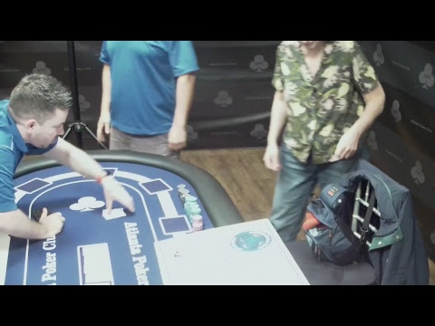 2018 Atlanta Poker Club Main Event Final Table  w Hole Cards