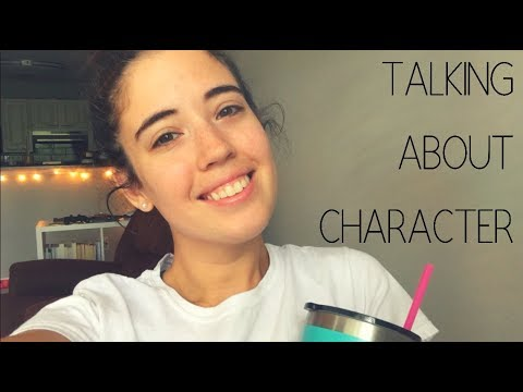 Talking About Character | Vlog #7 | Emily Davis
