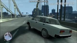 GTA 4 БПАН без посадки авто нет Ваз 2107 #2