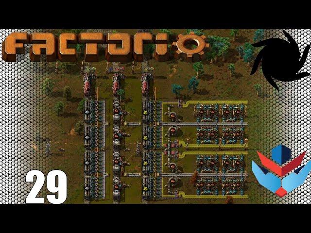 Factorio 1.0 Multiplayer 1K SPM Challenge - 29 - Cramming in Stations