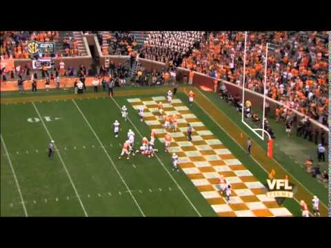 Tennessee vs. Chattanooga - Justin Worley Rushing TD #2