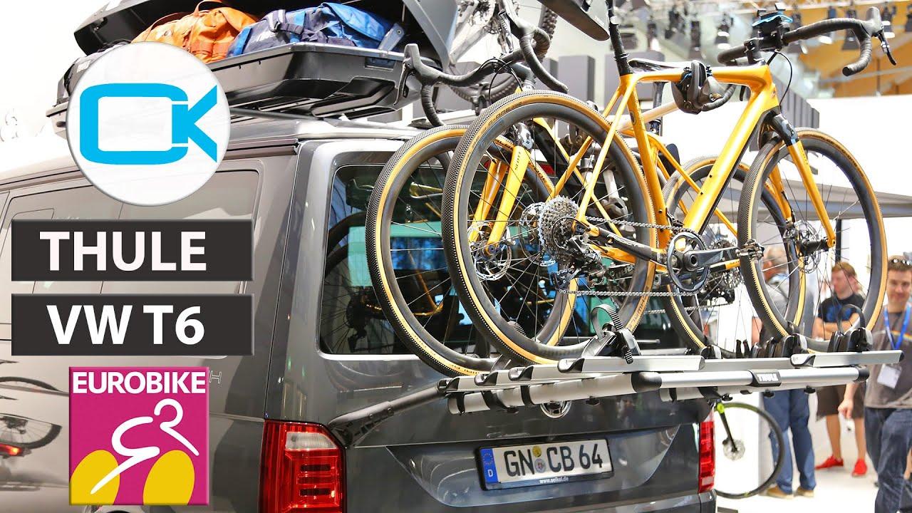 thule wanderway bike rack for vw t6