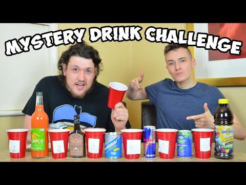 Mystery Drink Challenge | WheresMyChallenge