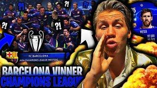 GRUNNEN til at BARCELONA VINNER årets CHAMPIONS LEAGUE 🏆🔥 *LIGADUELLENS første FIFA 19 Challenge*