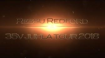Ressu Redford 35v juhlakiertue