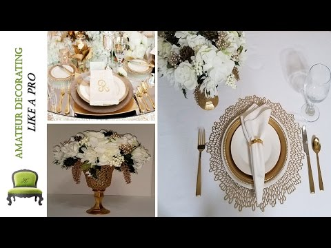 "DIY Dollar Tree Place Settings & Centerpieces ""Haves VS Have Nots With Solutions"" PT. 1"