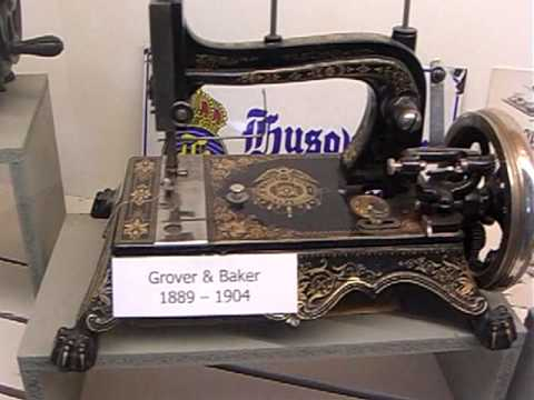 Husqvarna sewing machines since 1872 Nordstjeman, 1883 Freja till today Husqvarna Sweden Museum -10