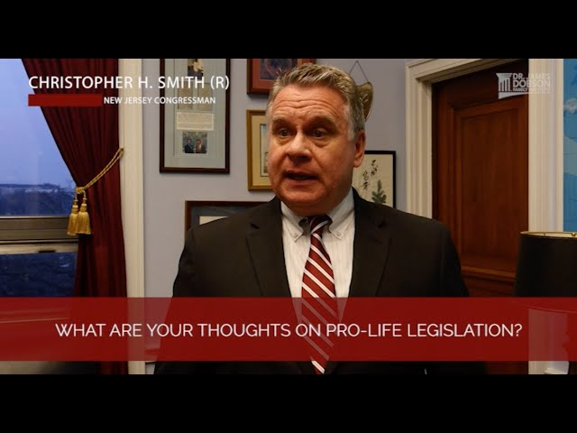 Interview with Rep. Chris Smith - Part 1 | with Dr. James Dobson's Family Talk