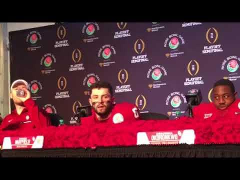 Oklahoma Rose Bowl postgame press conference