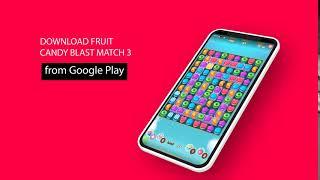 Fruit Candy Blast Match 3 Game: Sweet Cookie Mania screenshot 4