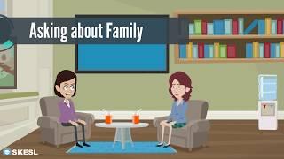Скачать English Conversation Lesson 8 Asking About Family