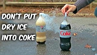 What Happens if You put Dry Ice into COKE