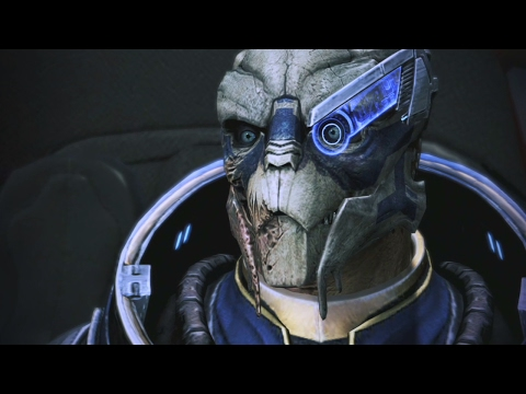 Mass Effect Trilogy: Garrus Romance Complete All Scenes
