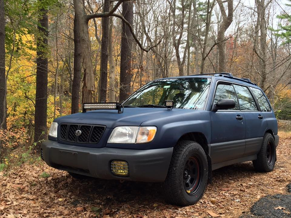 2001 Subaru Outback Custom >> 2001 SF Subaru Forester Offroad/Rally - Walkaround, Exhaust - YouTube