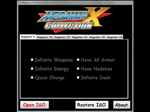 PSX/PC Megaman X4 Cheats and Trainer