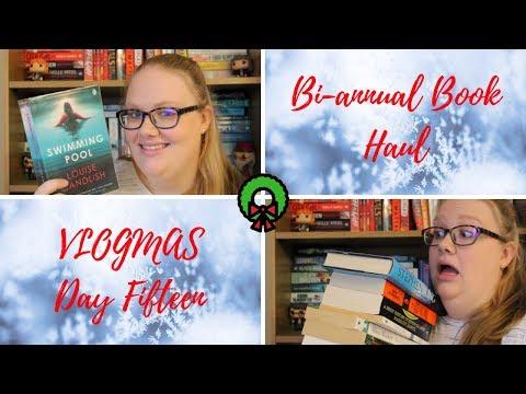 Bi-Annual Book Haul // VLOGMAS DAY FIFTEEN ❄️