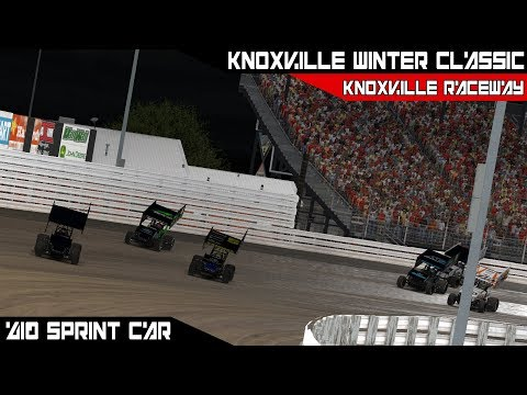 iRacing - Knoxville Winter Classic @ Knoxville Raceway Race 4