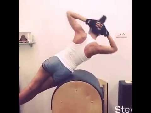 Malaika arora khan workout in tights @41