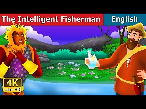 The Intelligent Fisherman Story In English | Stories For Teenagers | English Fairy Tales